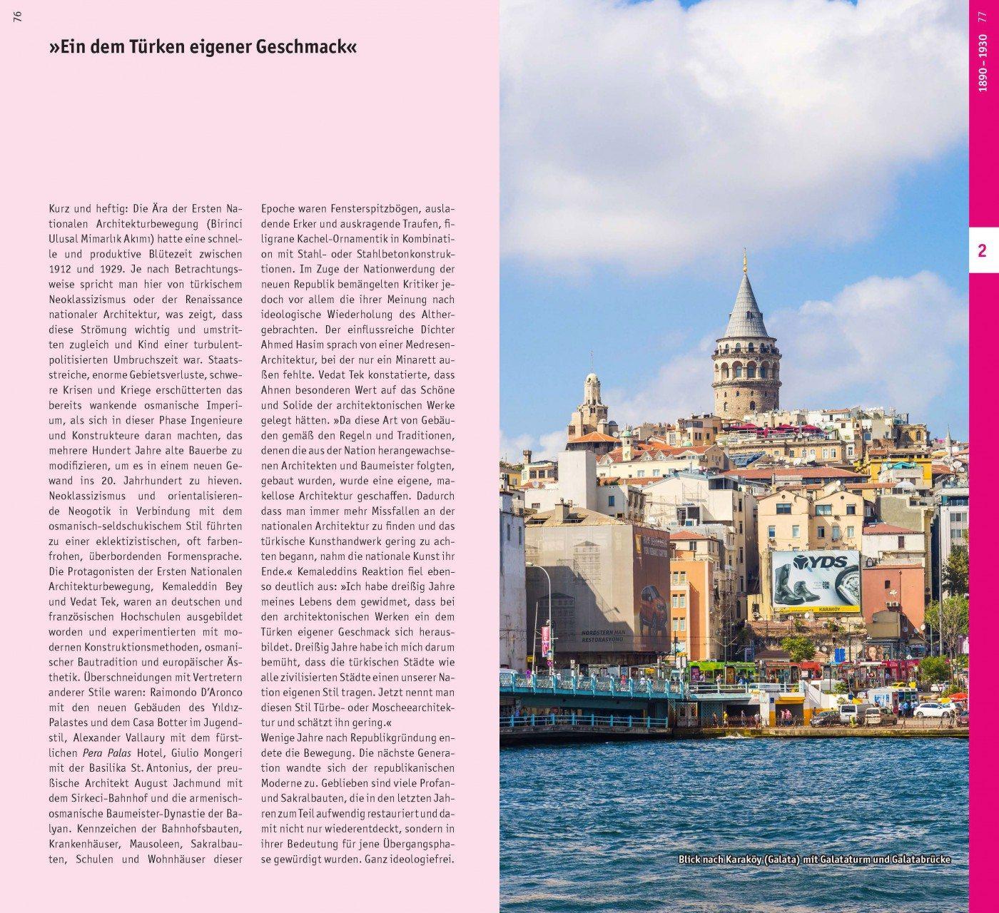 Die Aussicht. Der Galata-Turm