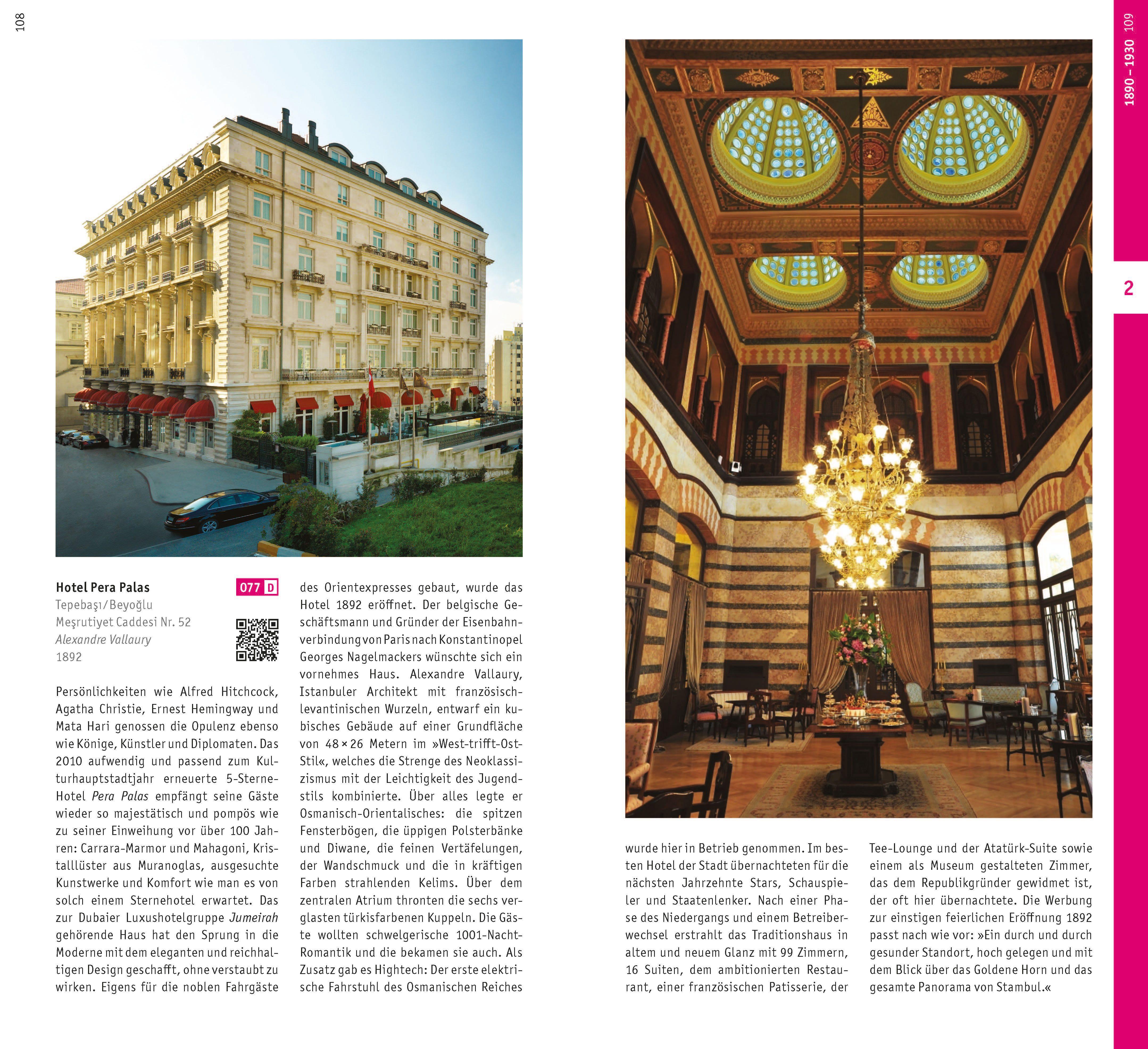 Die Luxusdiva. Fünfsternehotel Pera Palace von Alexandre Vallaury.
