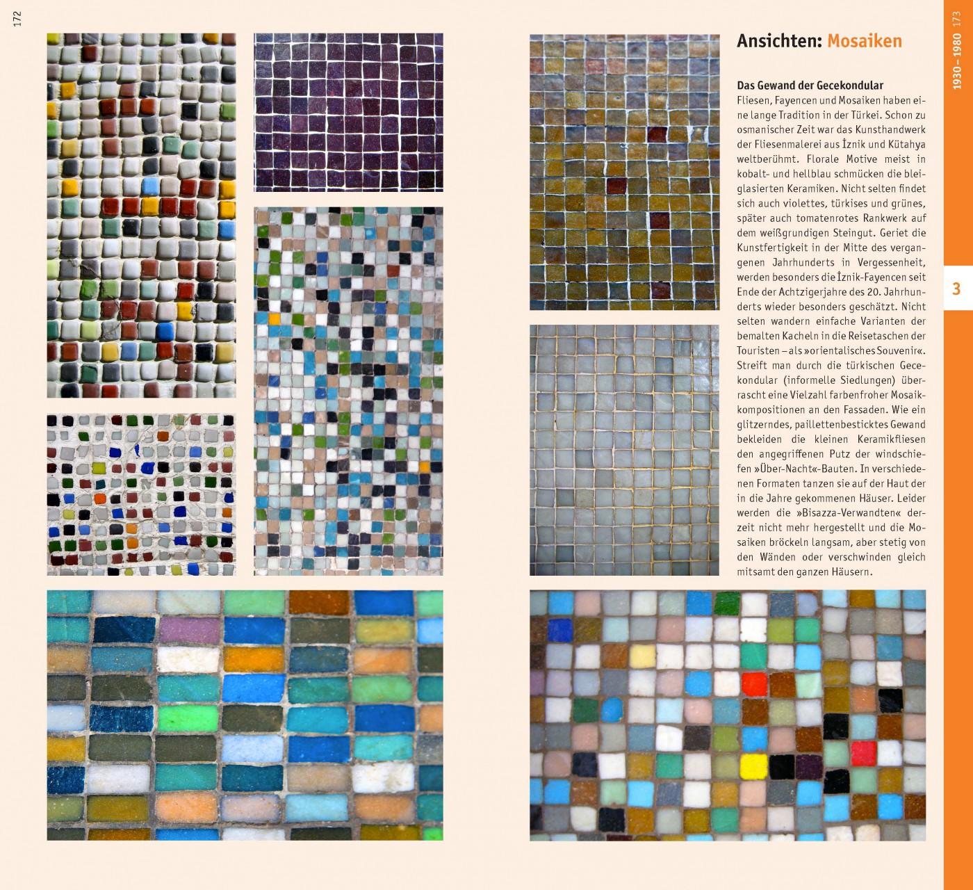 Die Gewänder. Haus-Mosaiken