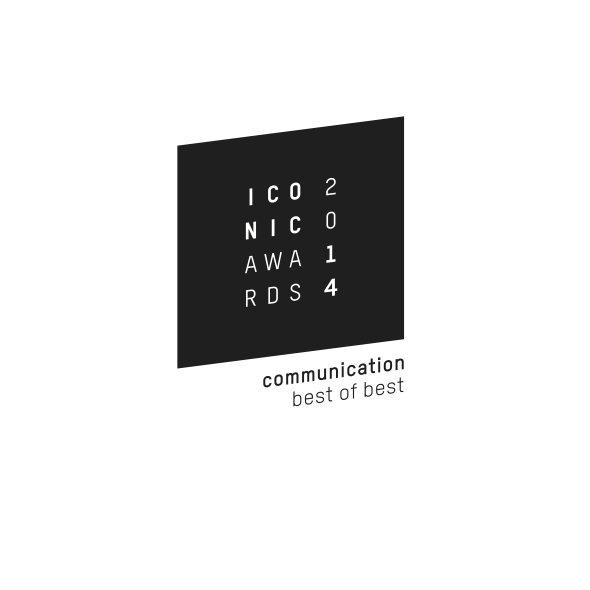 """Iconic Award 2014.  für den Architekturführer Istanbul und die Architekturführer-Reihe von DOM publishers in der Kategorie """"Communication - best of best""""."""