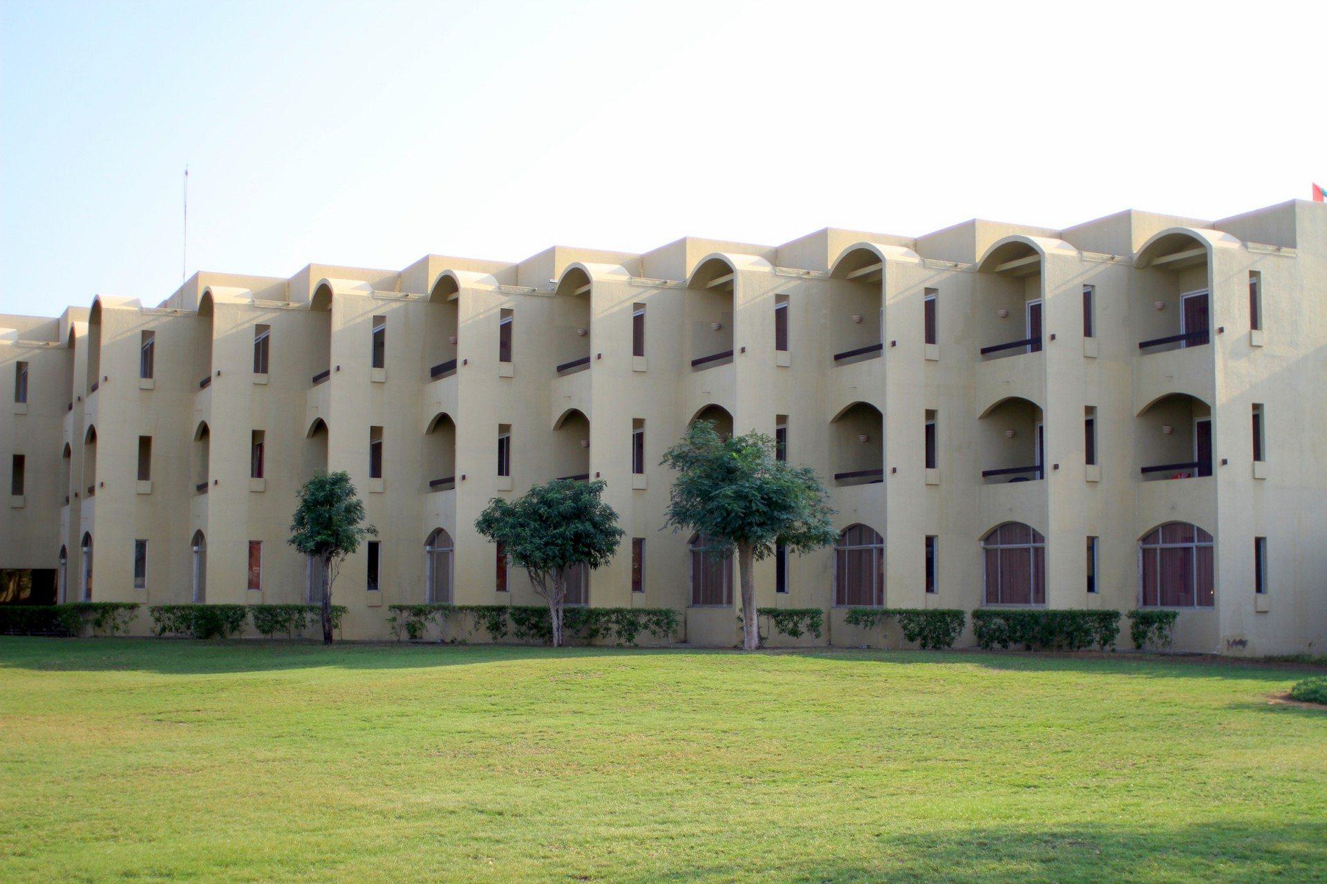 Meerwärts. Das Hilton in Fujairah an der Ostküste des Landes.