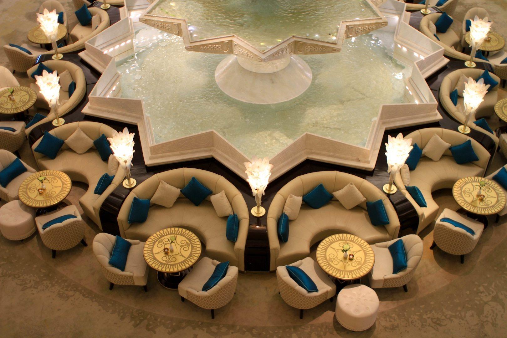 Lobbylandschaft, Teil 2. Waldorf Astoria