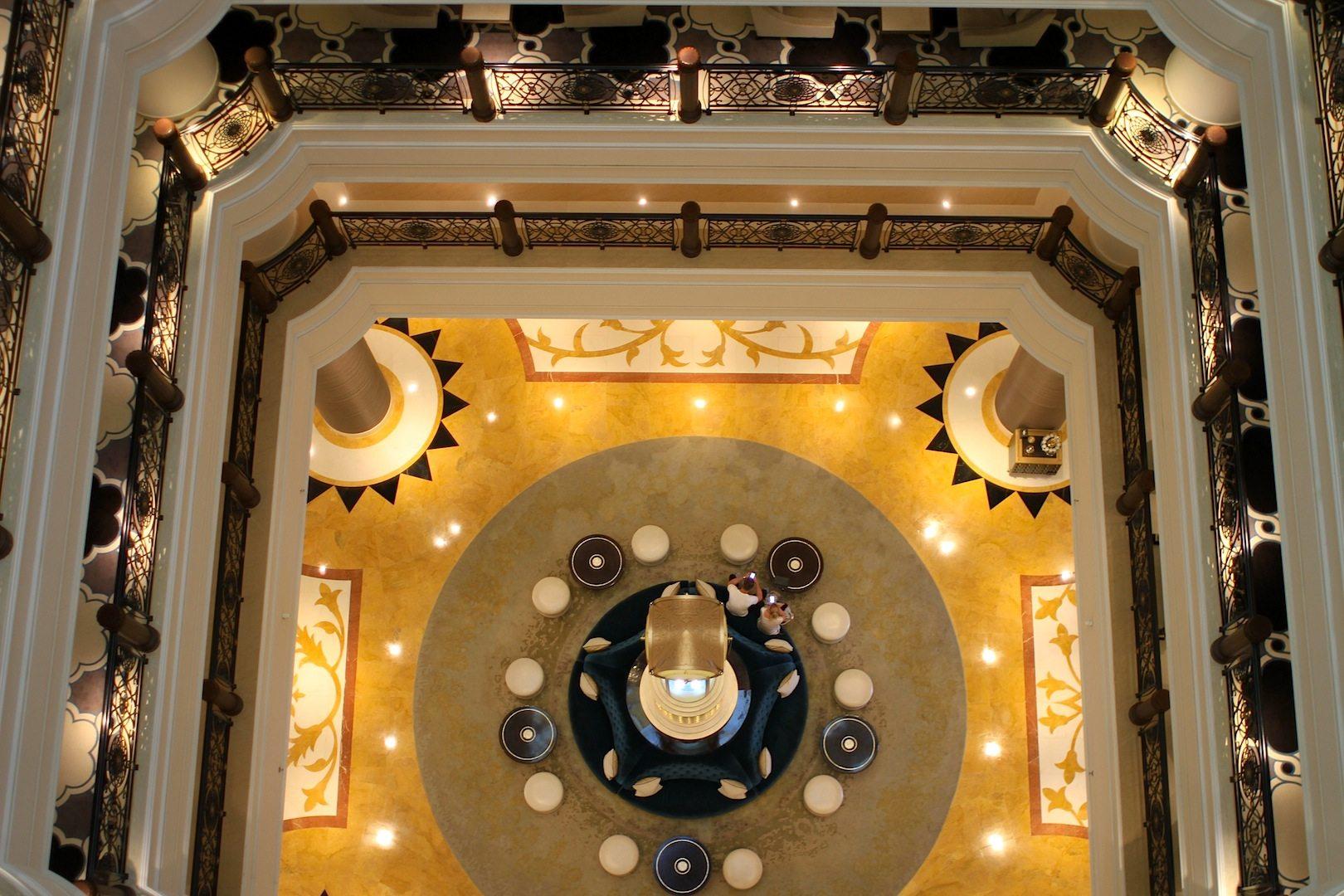 Lobbylandschaft. Waldorf Astoria