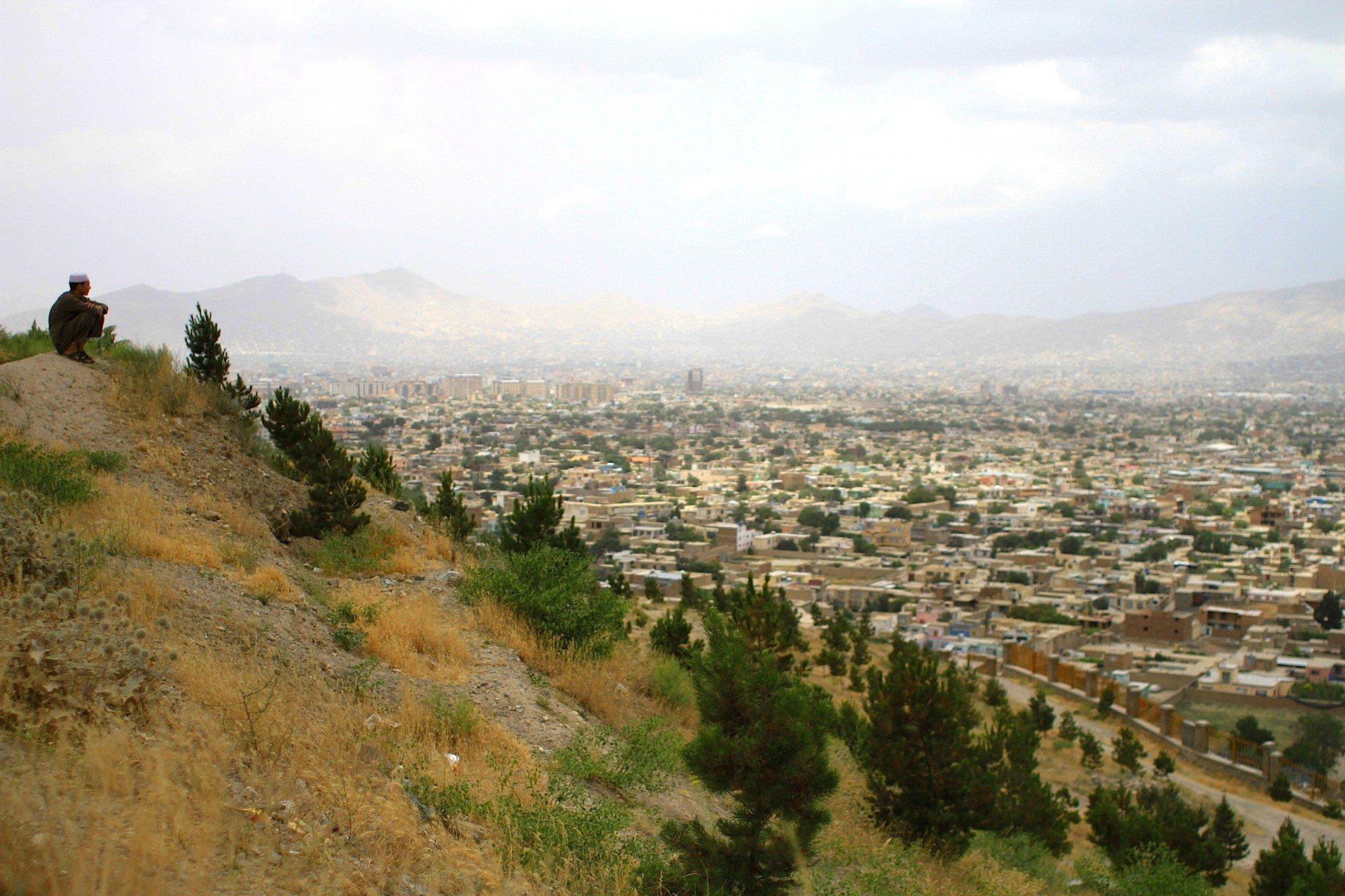 Der Weitblick. Kabuls Innenstadt