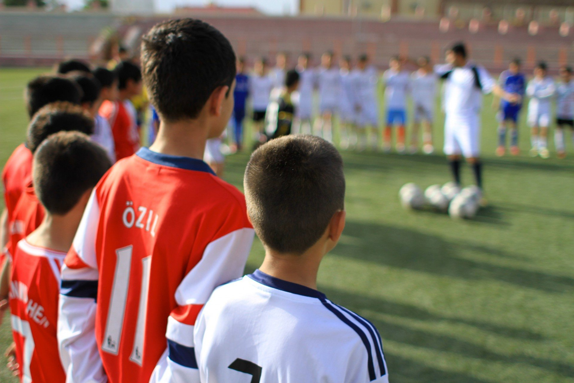 Die Fußballer.  Beim Training im Ghazi Stadion von Kabul