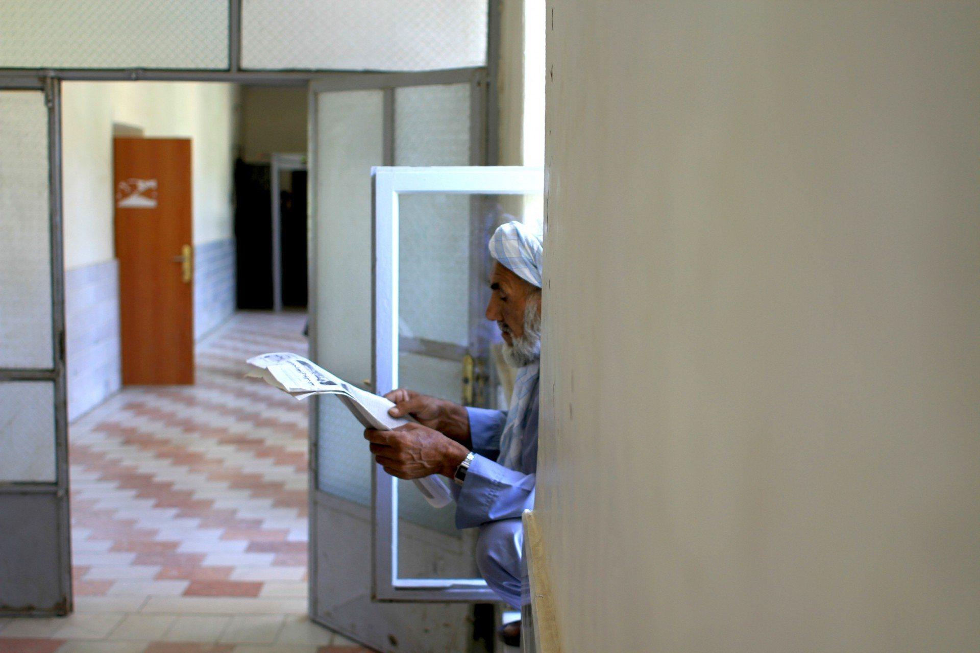 Der Leser. Im Governeurssitz von Herat
