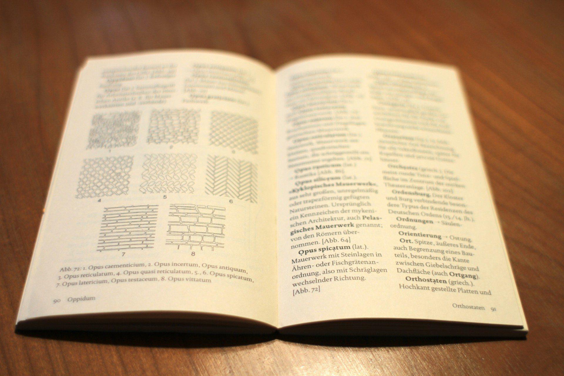 Opus caementicum. Wörterbuch der Architektur