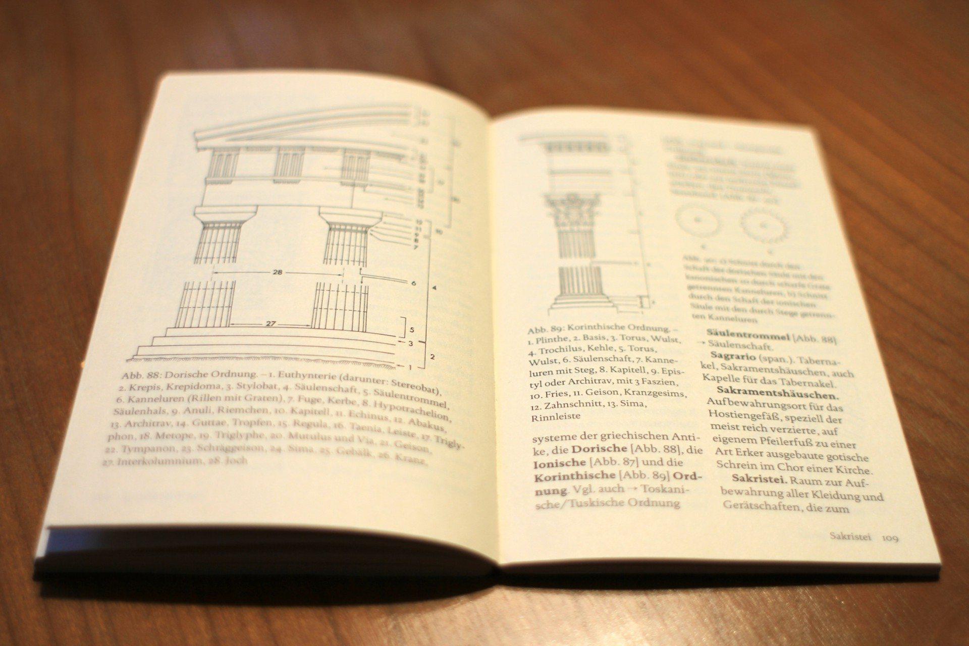 Dorische Ordnung. Wörterbuch der Architektur