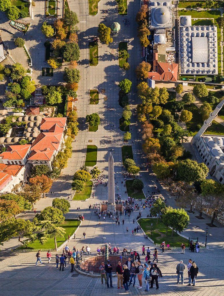Sultanahmet.  Istanbul