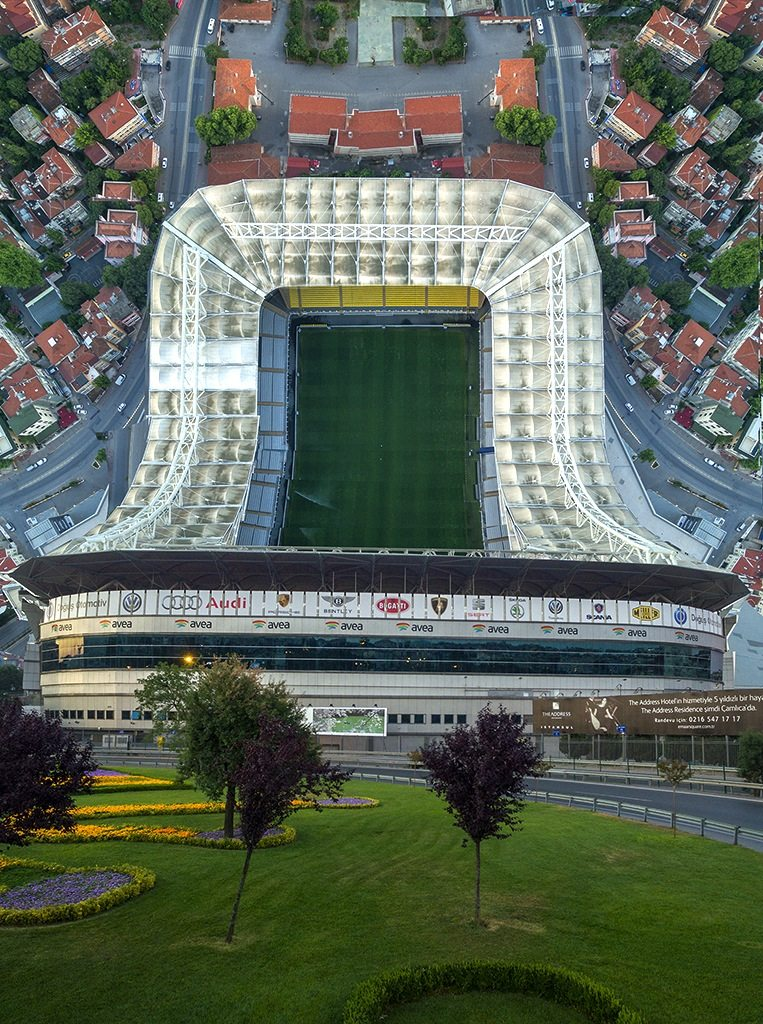 Fenerbahce Fußballstadion.  Istanbul