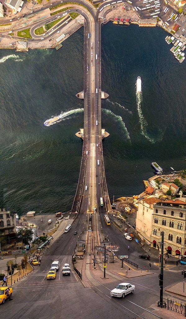 Die Galatabrücke.  Istanbul