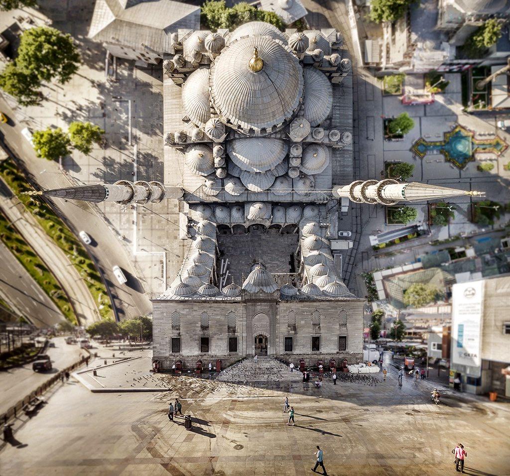 Die Flatland-Reihe des Istanbuler Fotografen Aydın Büyüktaş