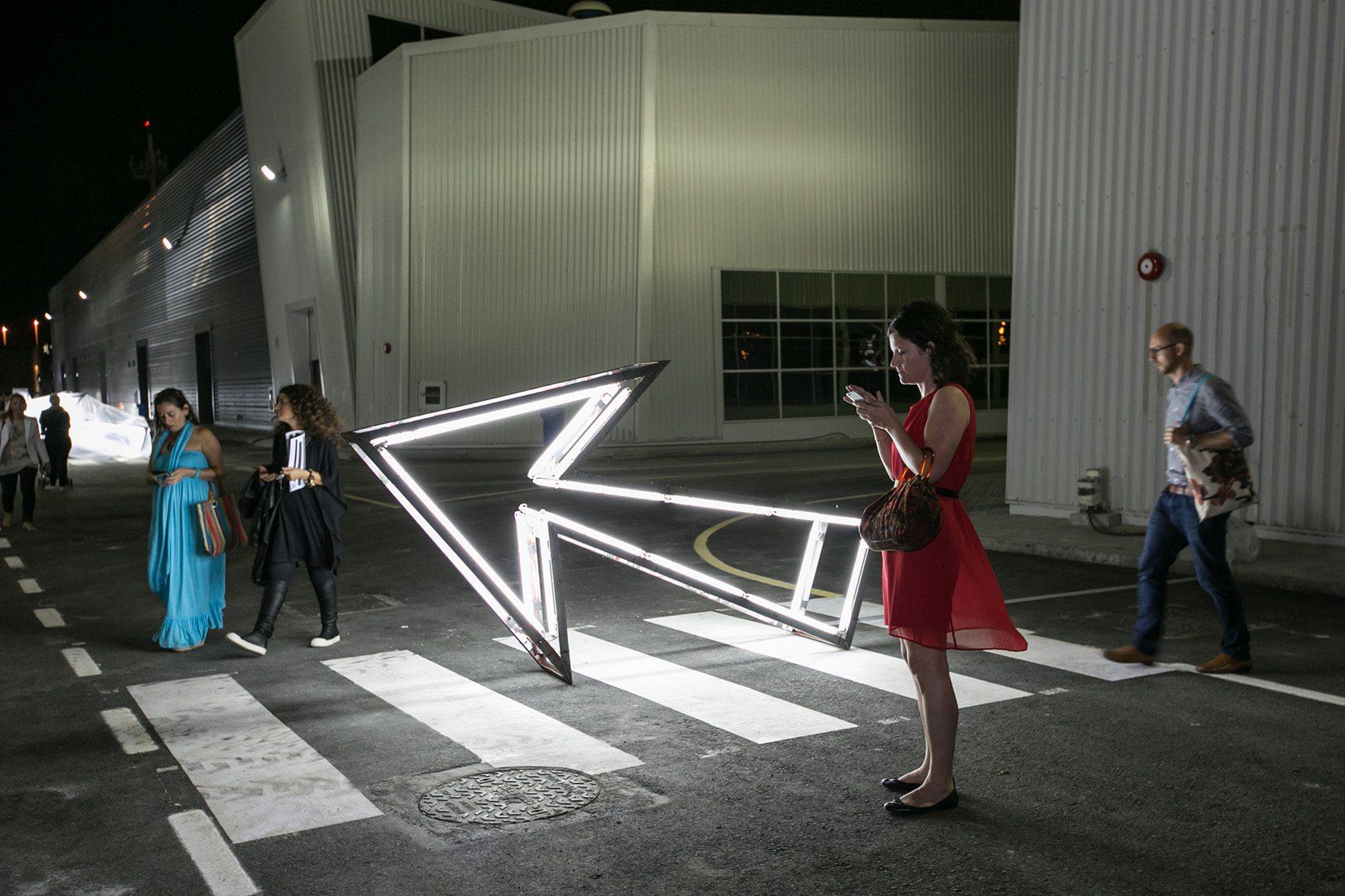 """""""Galleries Night"""".  Für das Kunstgebiet geht es auch zur Nacht der Galerien aufwärts."""