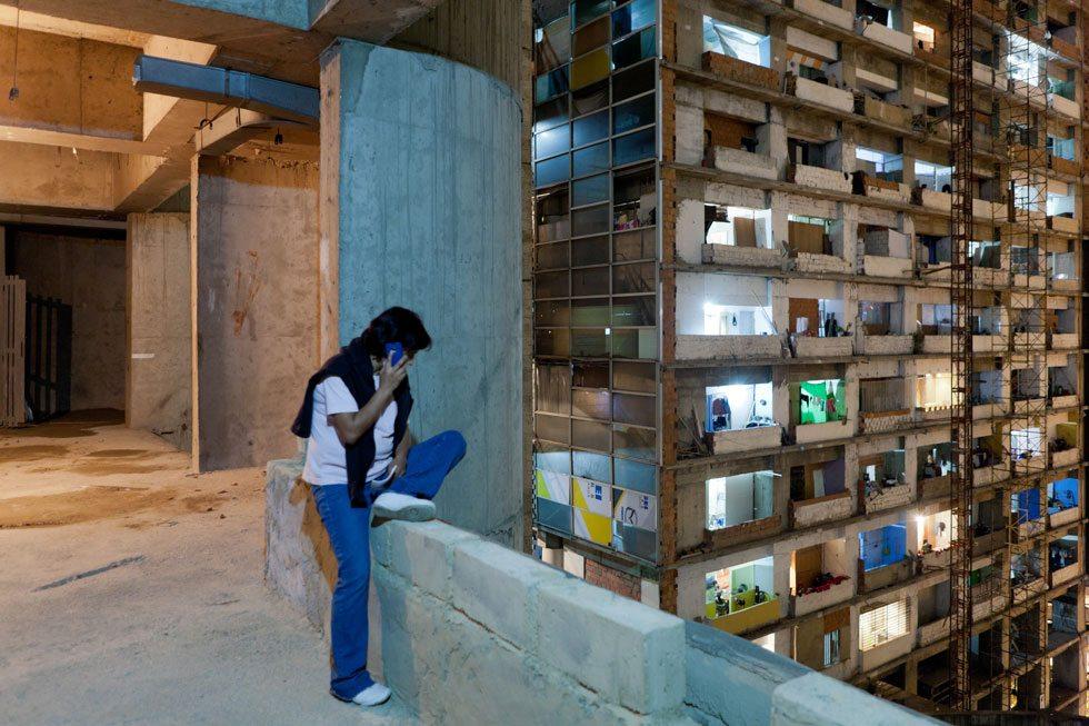 Torre David, Caracas. Bottom-up-Strategien als ein Weg, um auf vorherrschende urbane Mängel zu reagieren.