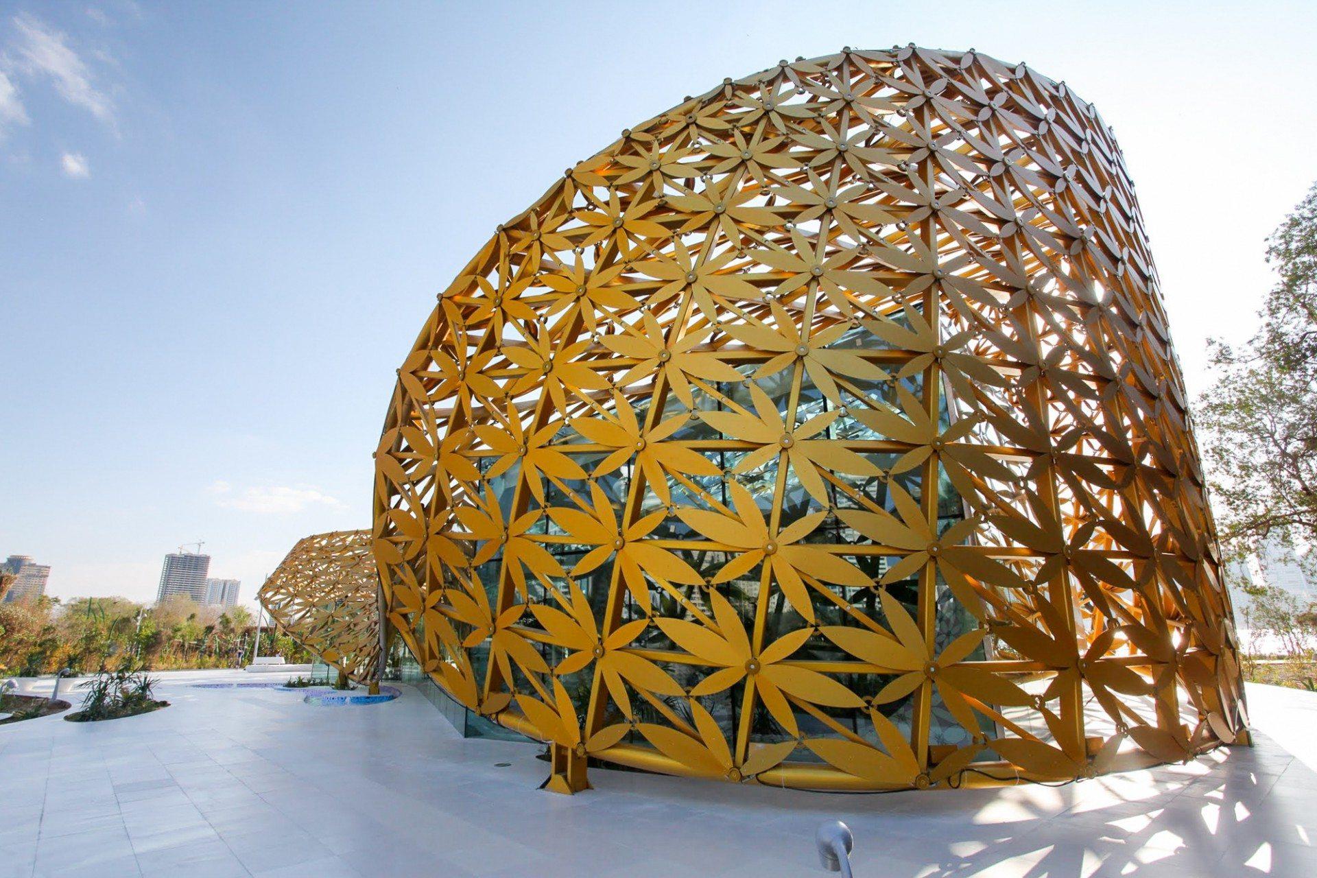 Butterfly Pavilion.  Außenansicht