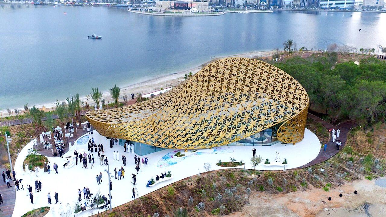 Butterfly Pavilion von 3deluxe auf Al Noor Island