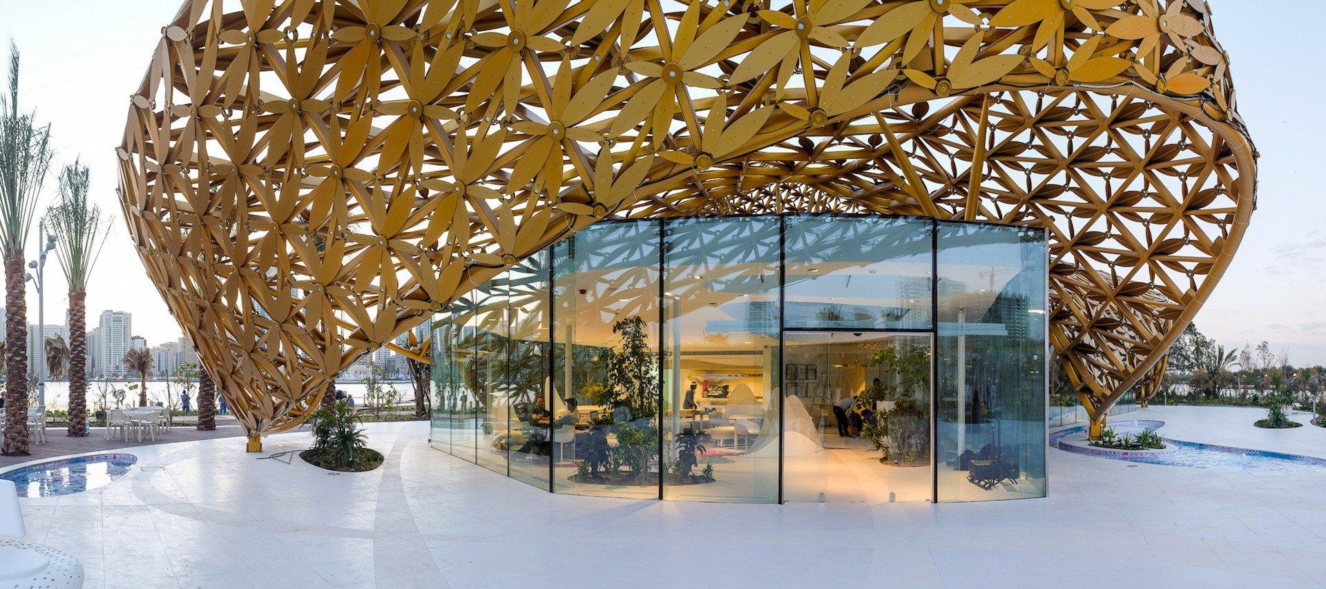Butterfly Pavilion.