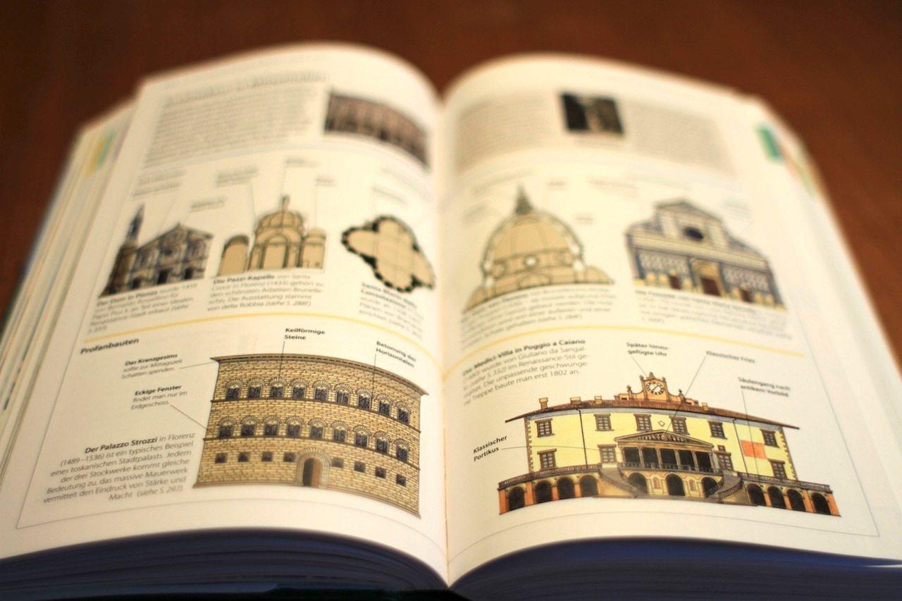 Die Architektur. In Mittelitalien