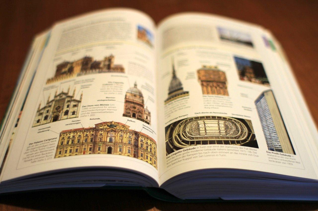 Die Architektur. In Nordwestitalien