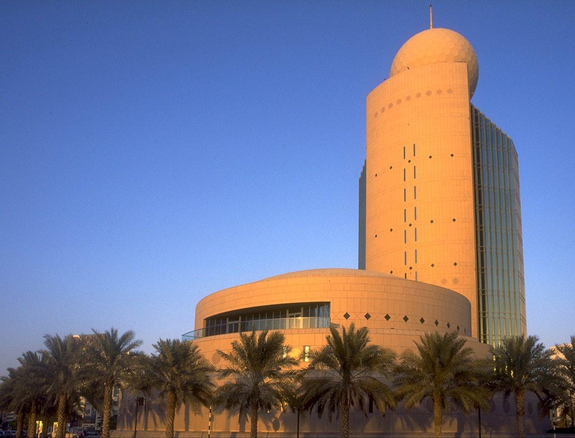 Etisalat Tower Deira. Von Arthur Erickson