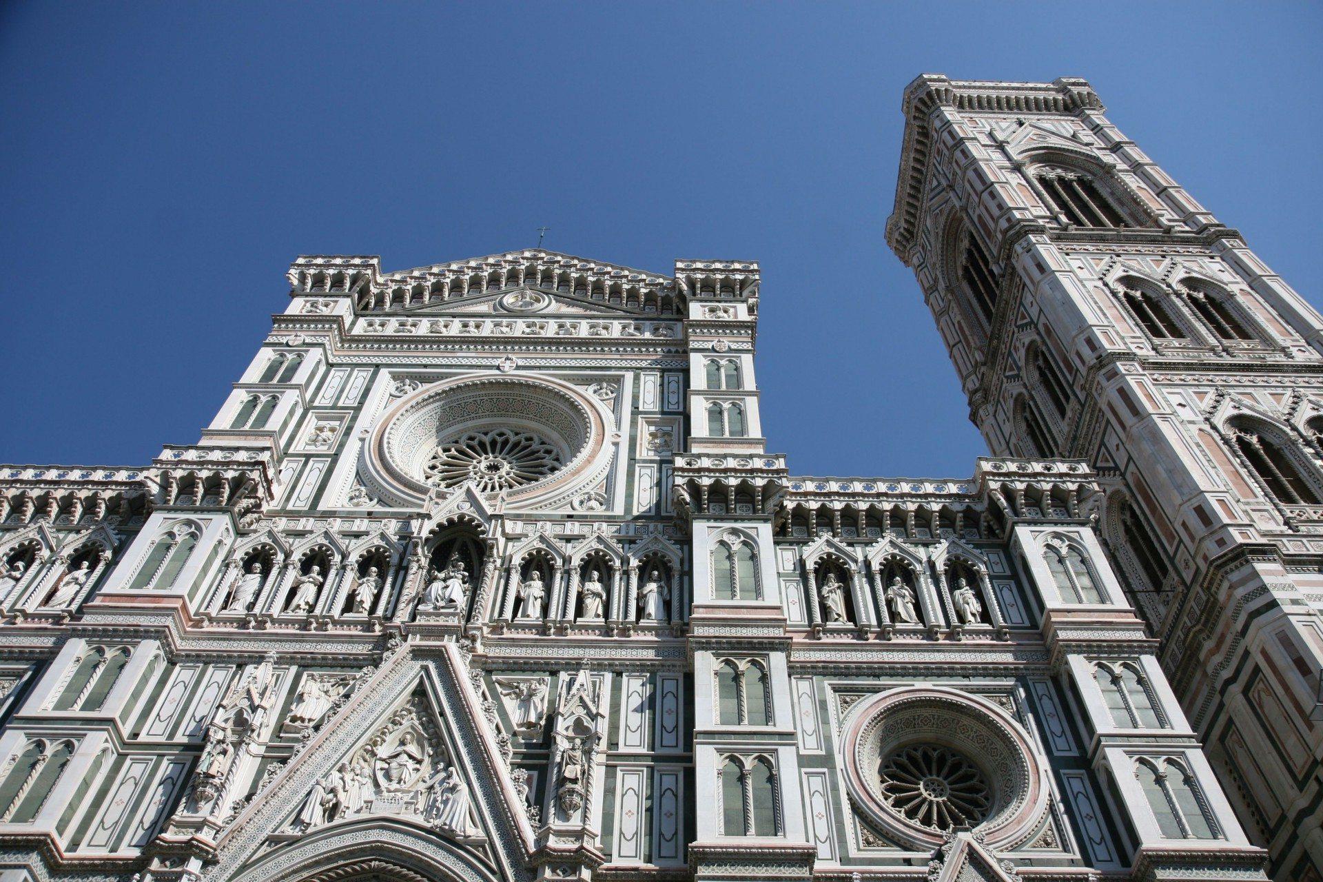Dom Santa Maria del Fiore. In Florenz