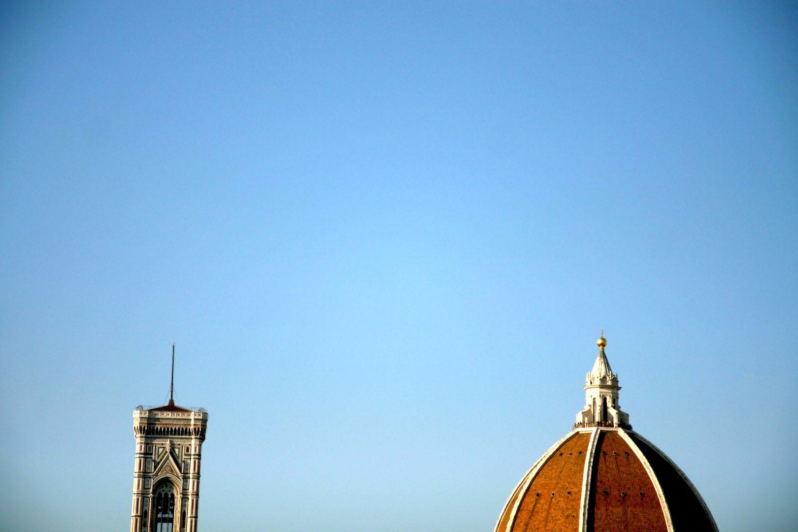 Die Spitzen. In Florenz