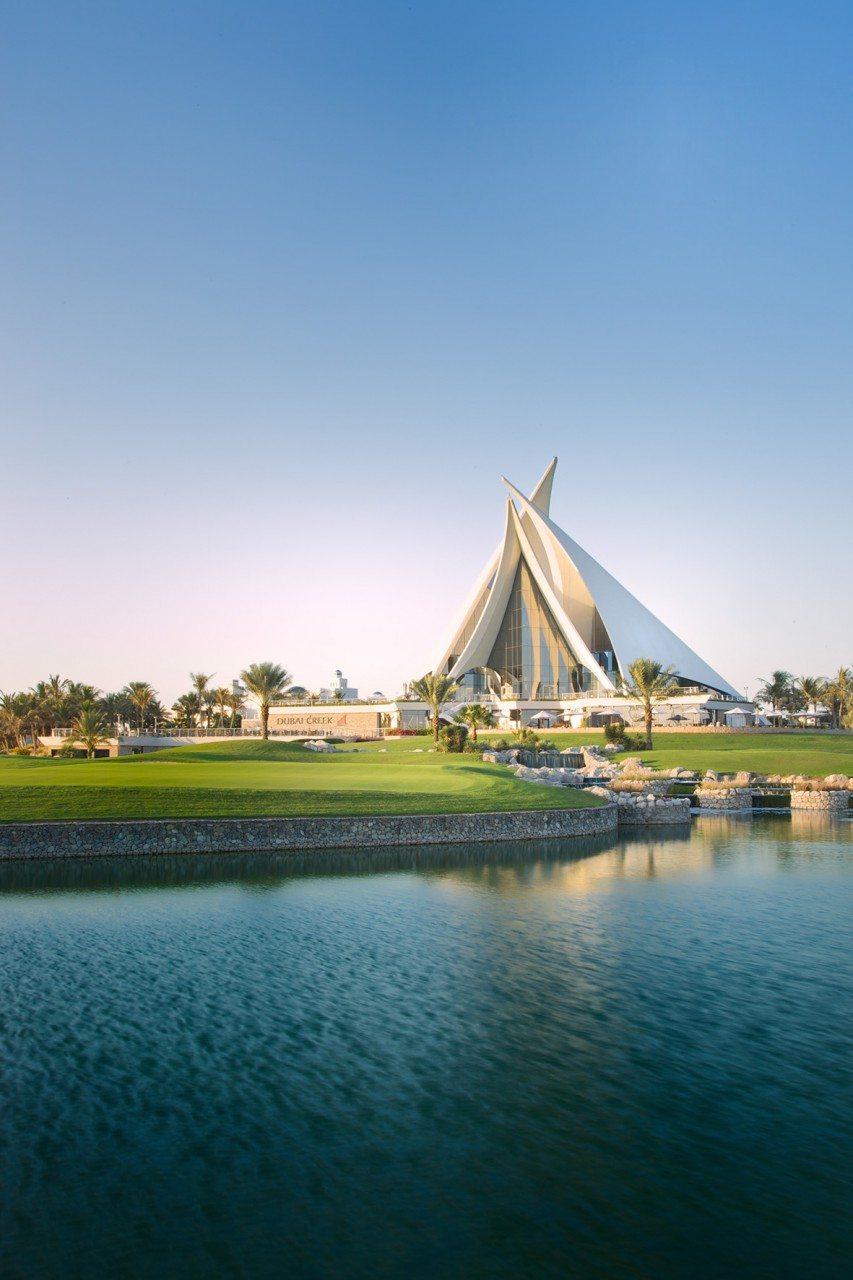 Dubai Creek Golf Club. Von Brian Johnson