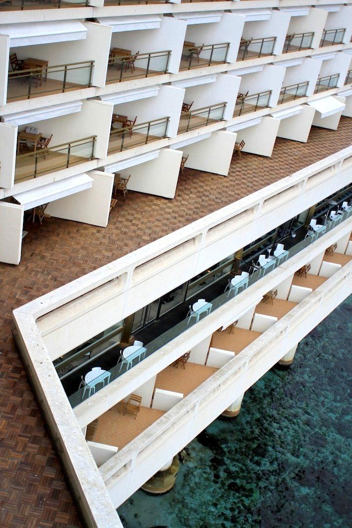 Fairmont Hotel. Zimmer mit Meerblick
