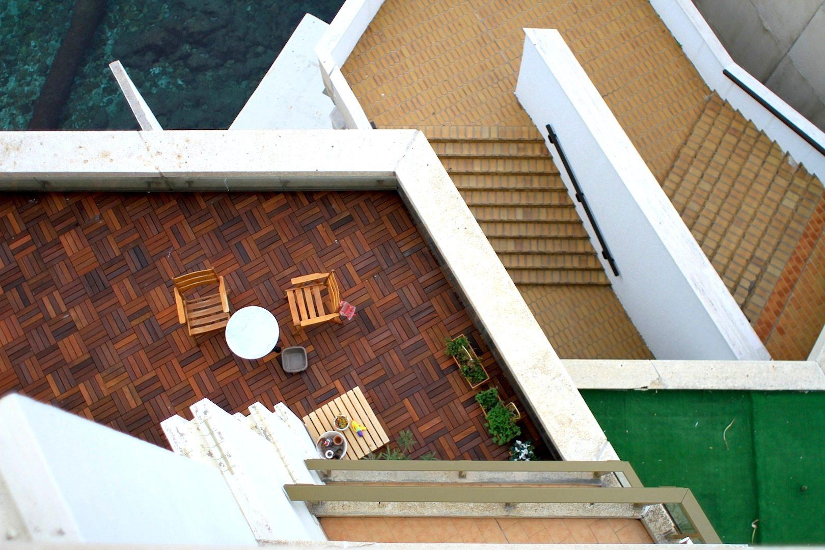 Fairmont Hotel.  Von oben