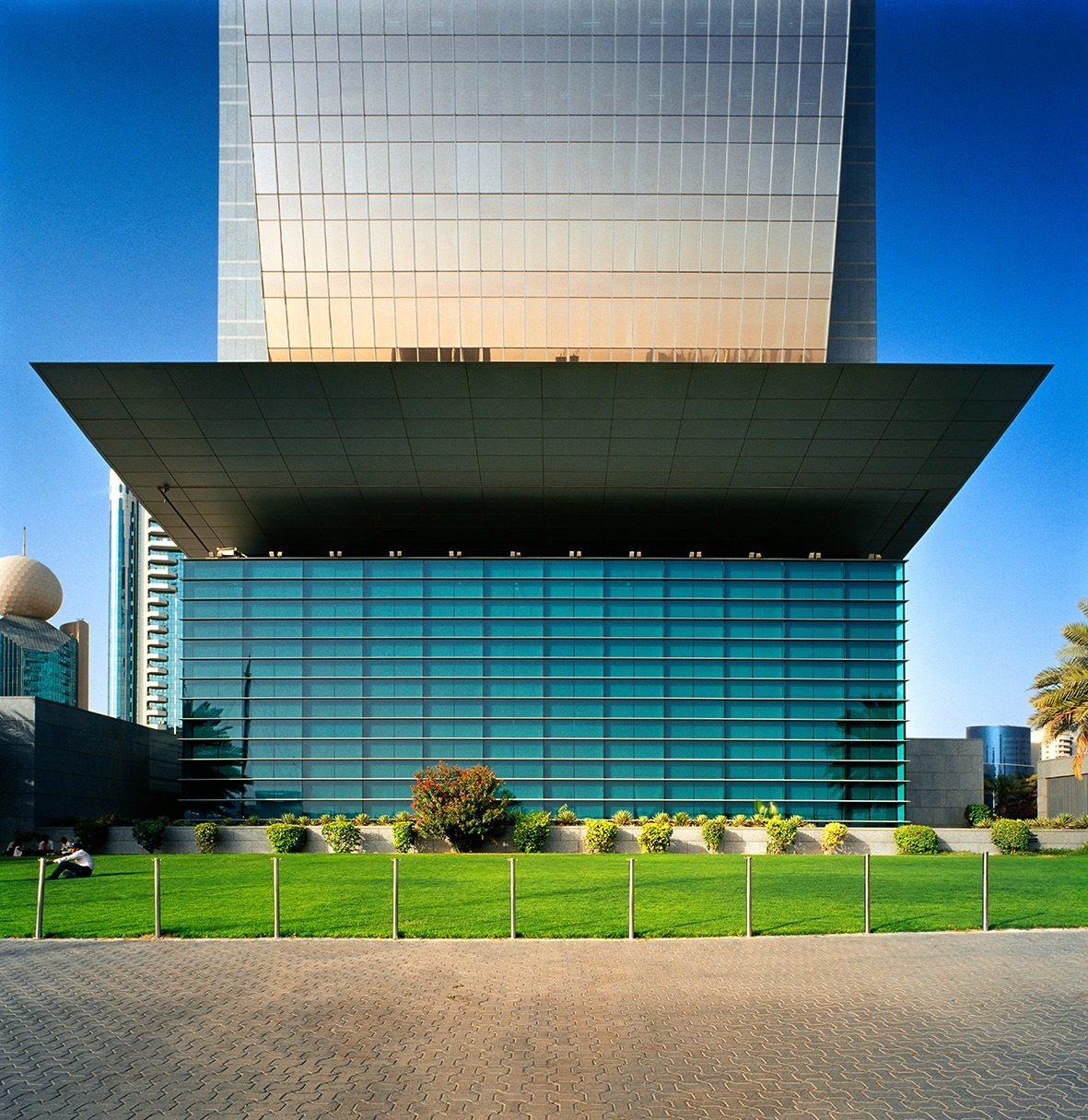 National Bank of Dubai (NBD). Die Kundenhalle der NBD-Zentrale von Carlos Ott (mit der NORR Group)