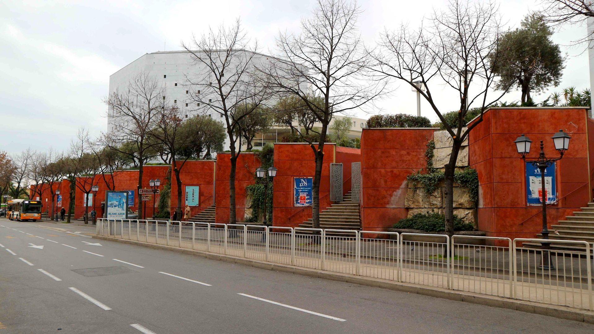 Théâtre National de Nice.  Architekt: Yves Bayard