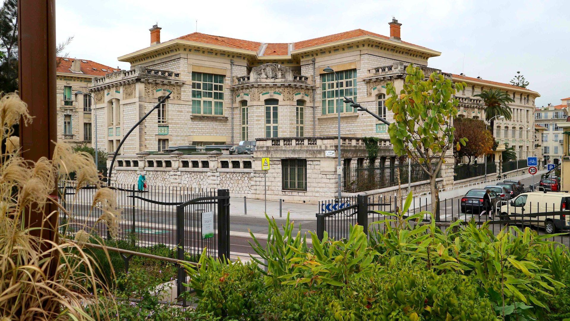 Lycée Masséna. 1812 gegründete Lehranstalt, Nizza.