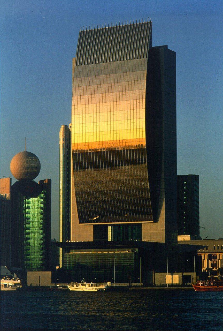 National Bank of Dubai (NBD). Die NBD-Zentrale von Carlos Ott (mit der NORR Group)
