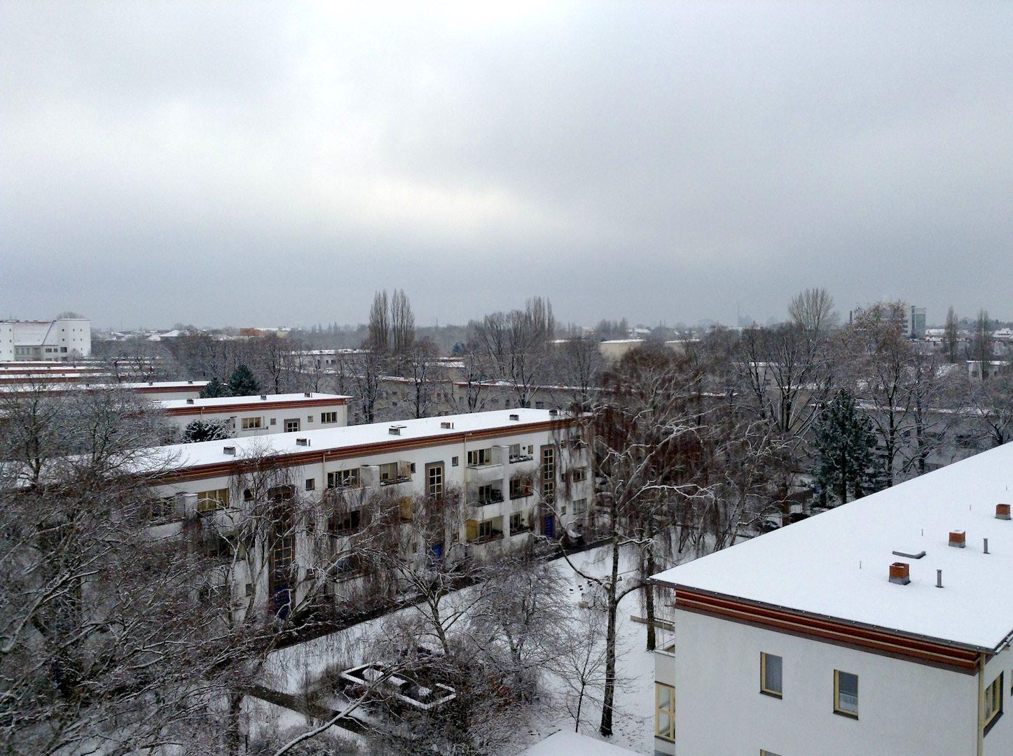 Weiße Stadt. Courtyards