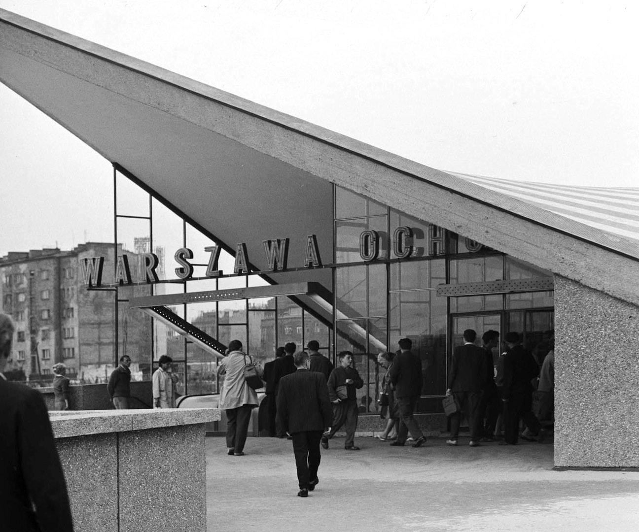 Bahnhof Ochota. In Warschau