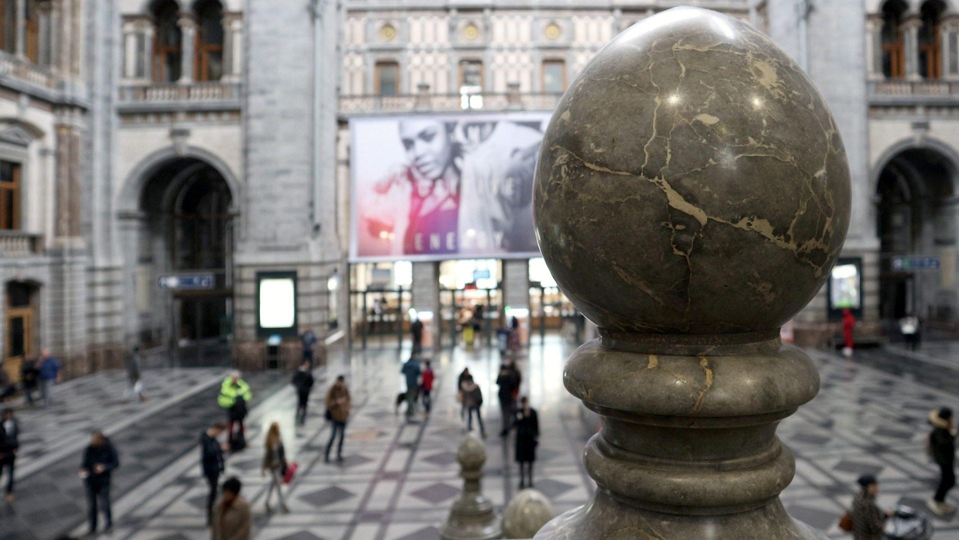 Schweiz.  Eine weitere Inspiration für Louis de la Censerie: der Bahnhof Luzern