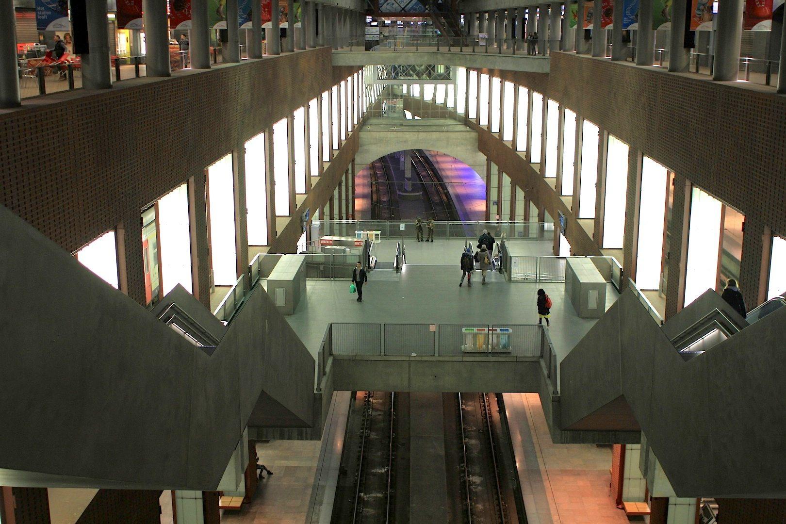 Antwerpen Centraal: einer der schönsten Bahnhöfe der Welt