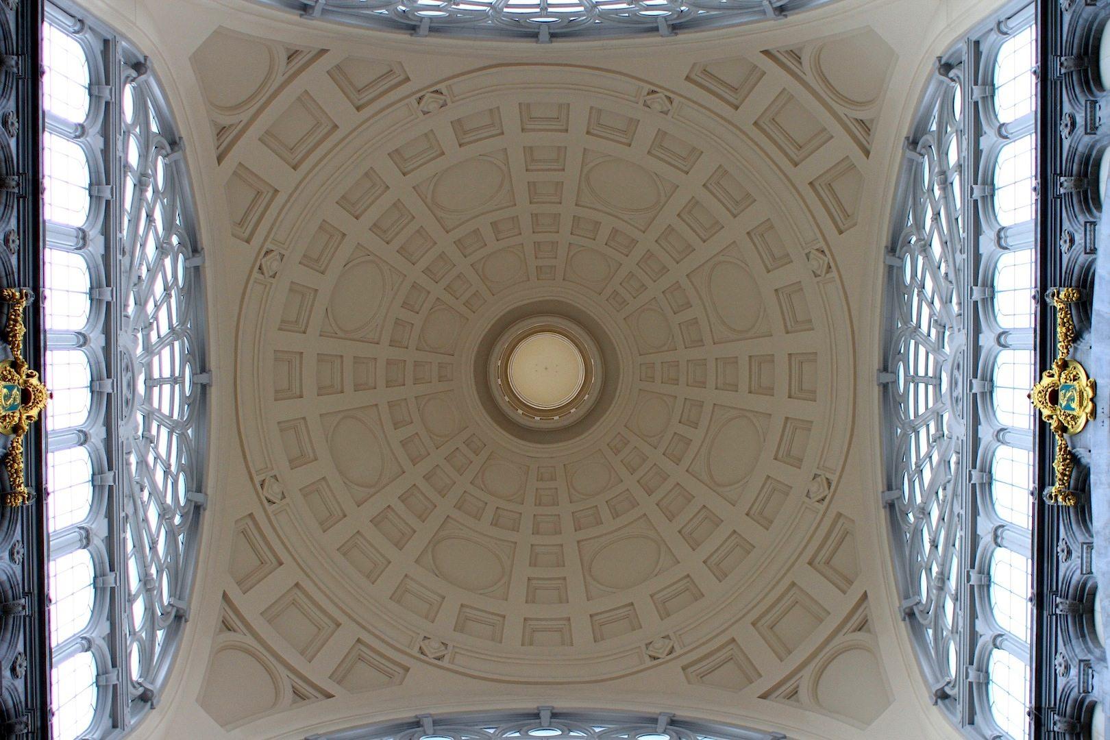 Rom. Louis de la Censerie ließ sich vom Pantheon in Rom inspirieren