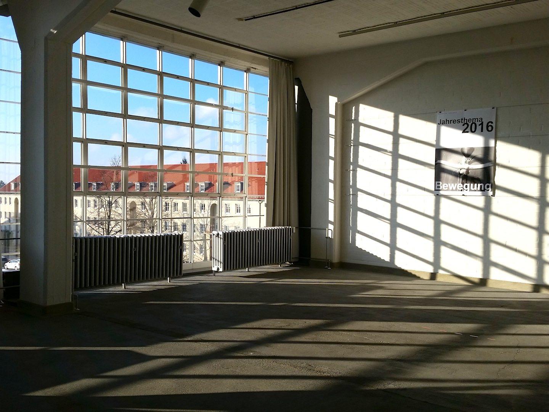 Bauhaus building. In Dessau