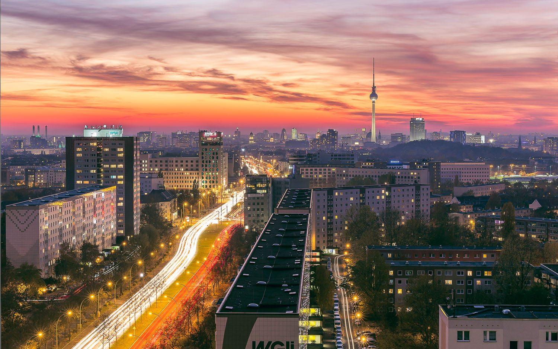 Berlin Skyline Prenzlauer Berg.