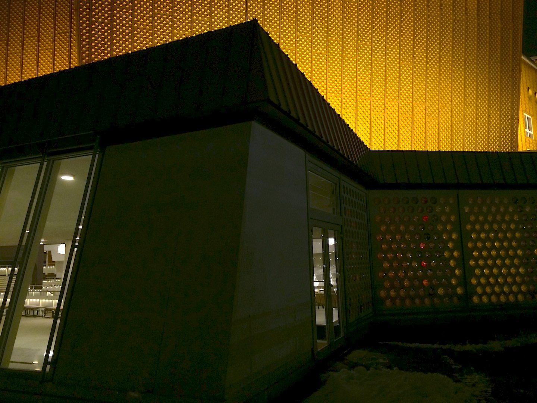 Berliner Philharmonie. By German architect Hans Scharoun