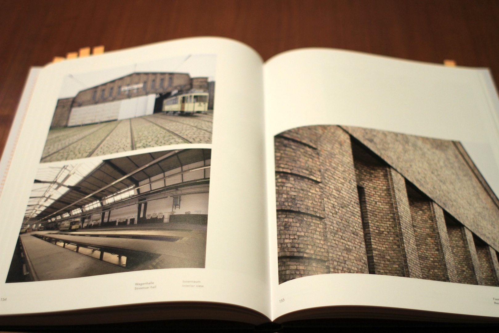 """""""Jean Krämer Architekt / Architect"""". Straßenbahndepot Niederschönhausen, Berlin"""