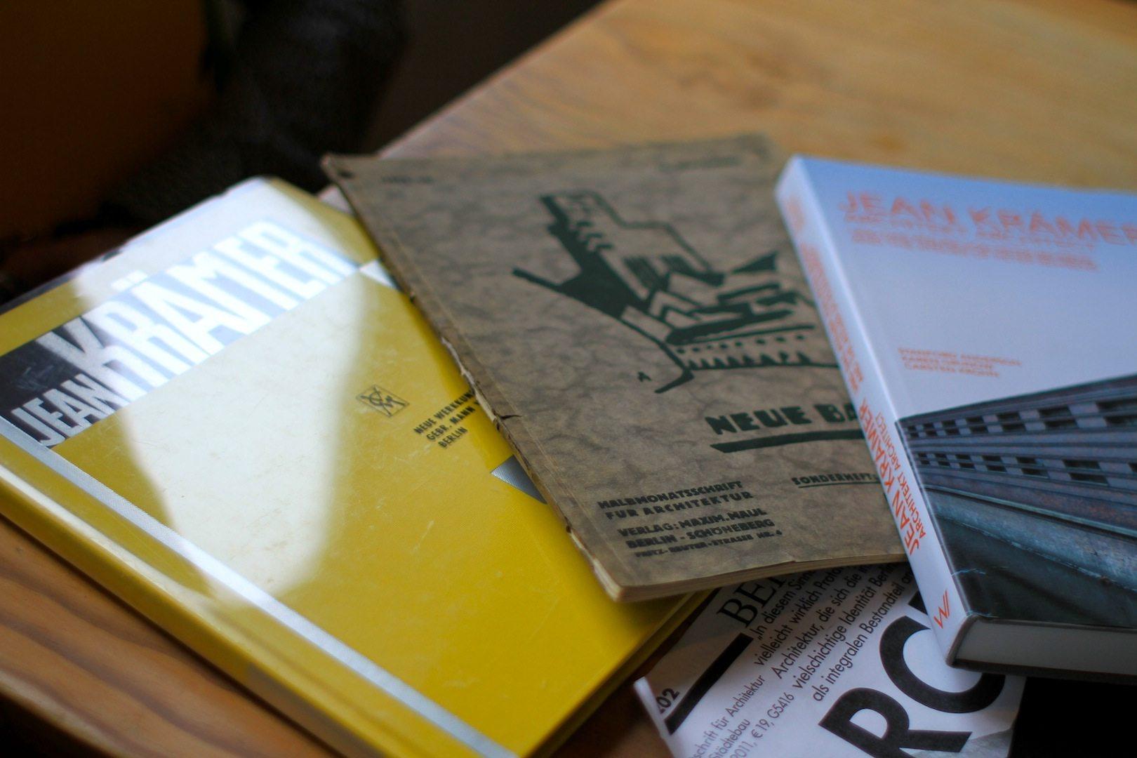 Publikationen über Jean Krämer.