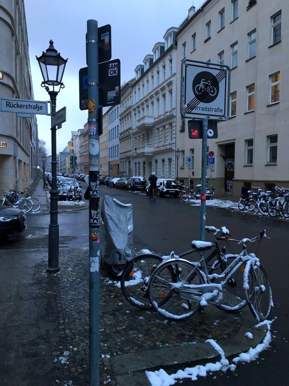 Rückerstraße. In Berlin-Mitte