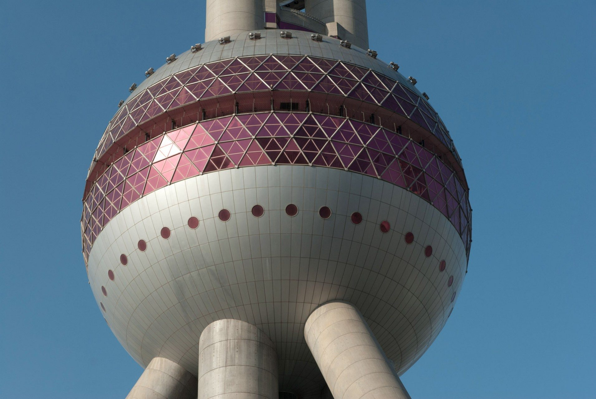 Oriental Pearl Radio & TV Tower Shanghai.