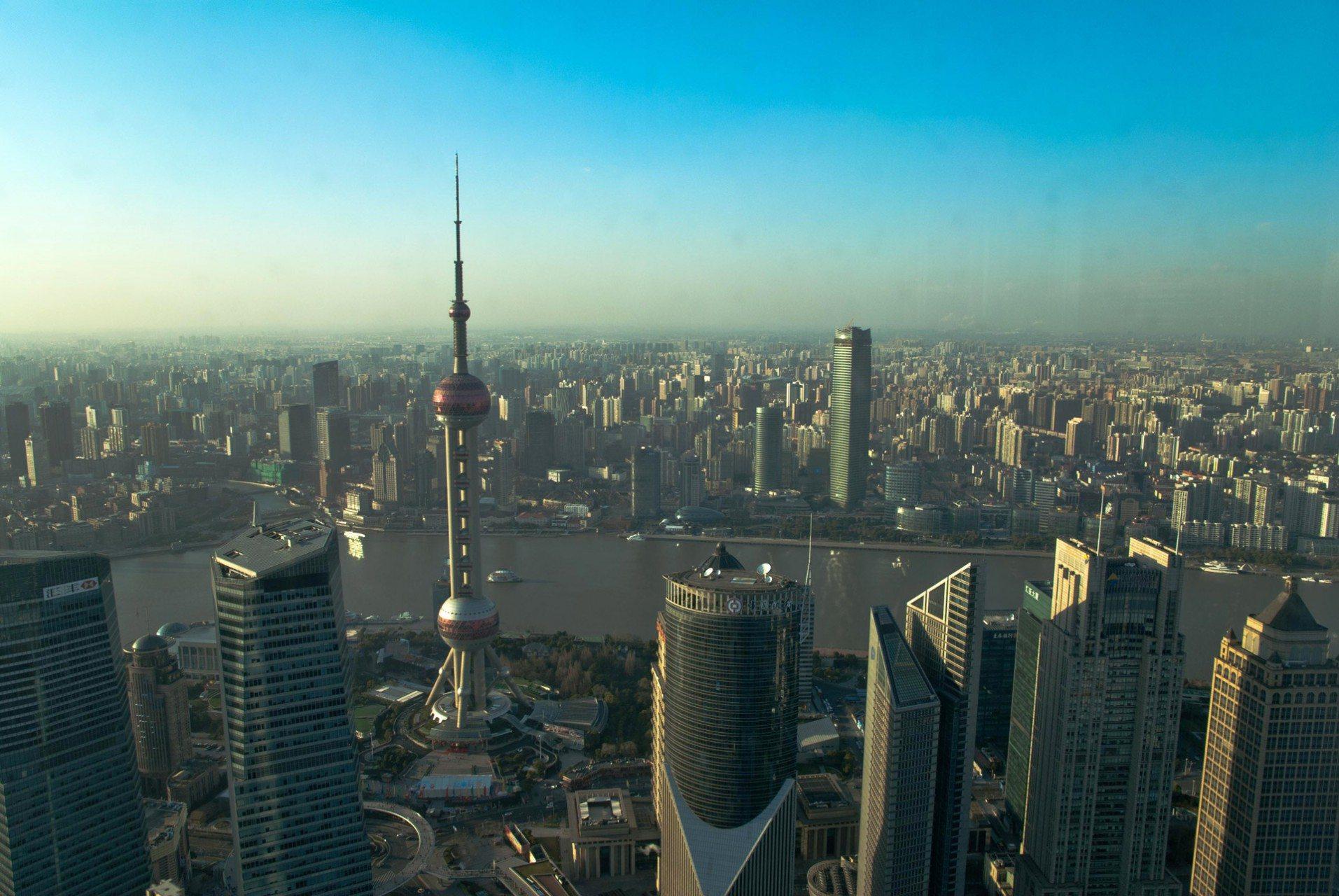 Oriental Pearl Radio & TV Tower Shanghai.