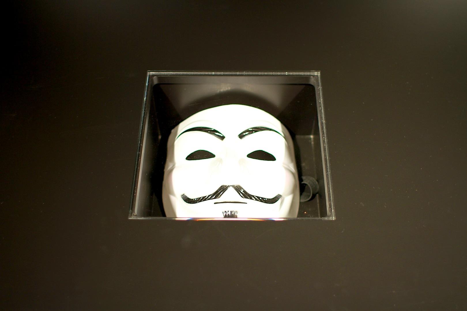 Maskenhaft. Und aktuell. Das Museum spannt den Themenbogen von der Bibel bis zu den Hackern unserer Zeit.