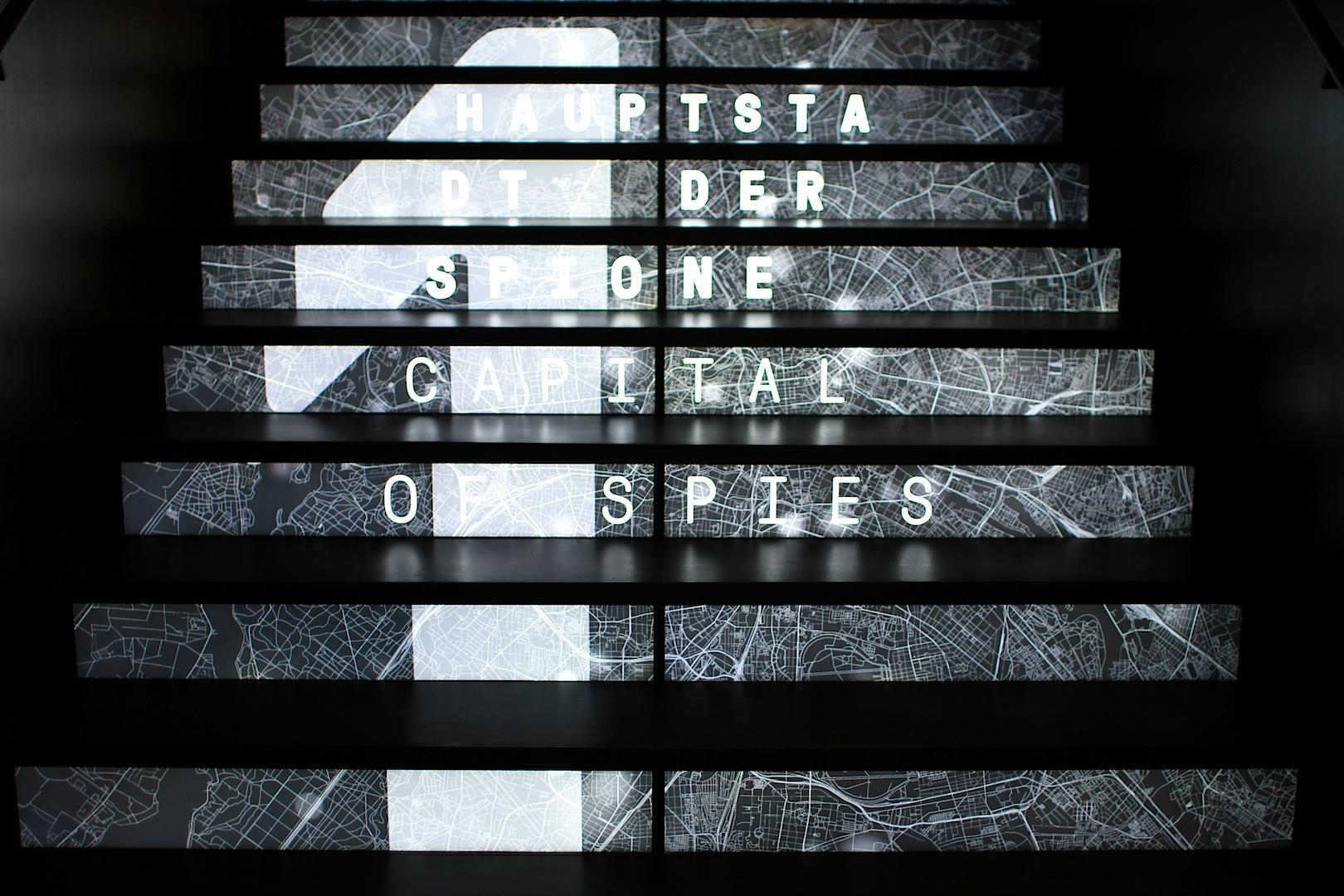 Stufenweise. Auch Treppen sind Teil des Edutainment-Konzepts