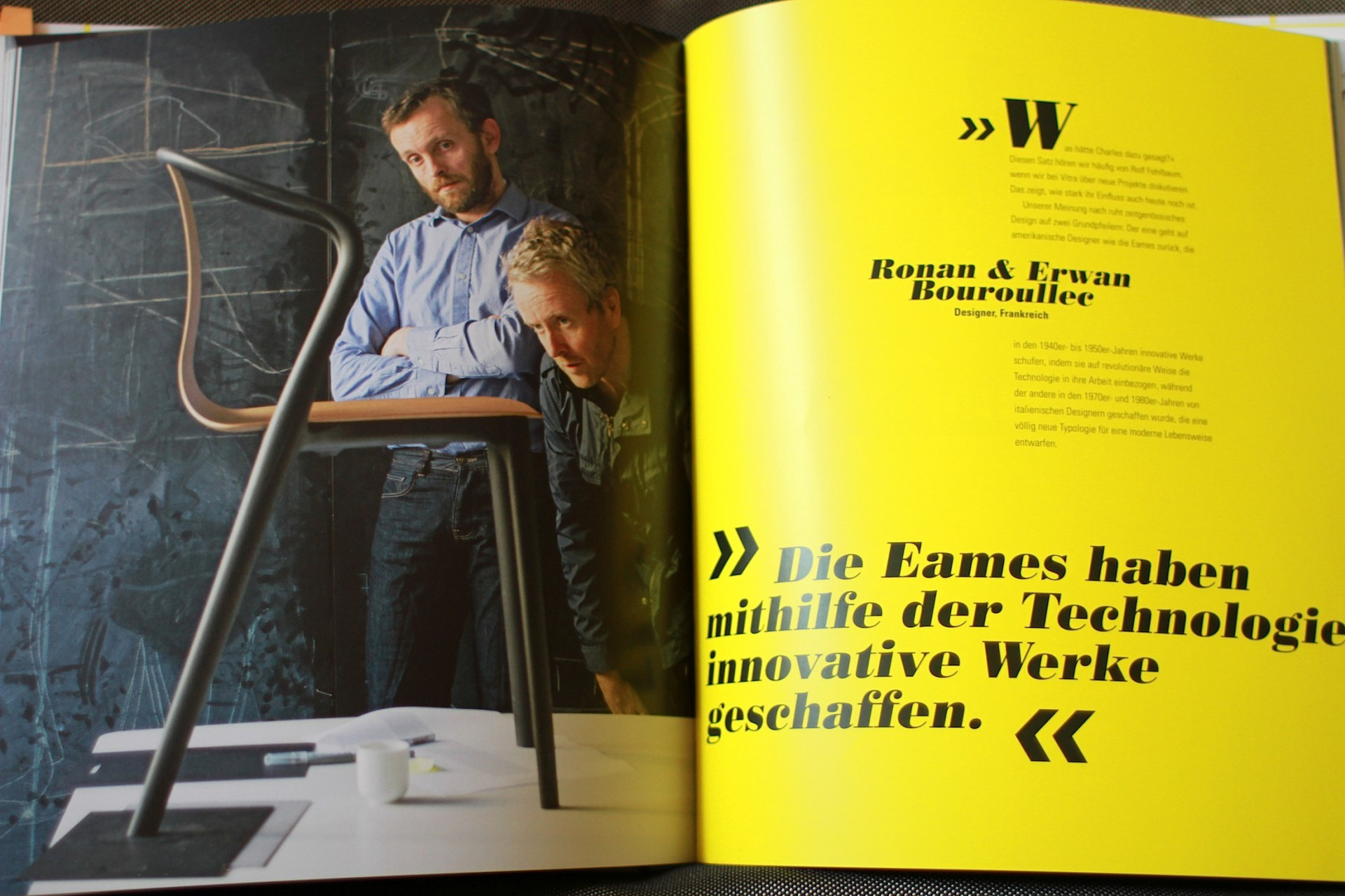 Ronan & Erwan Bouroulec, Designer, Frankreich.