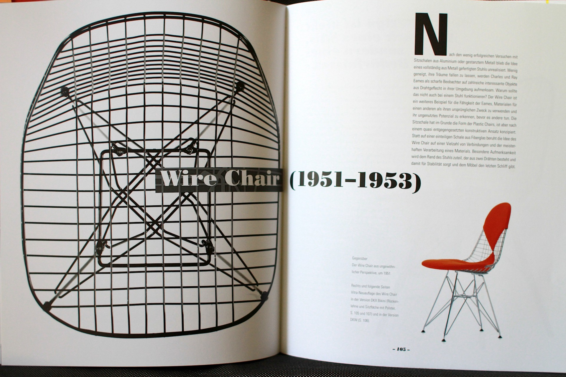Wire Chair 1951.
